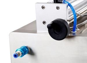 Image 3 - Flüssigkeit Füll Maschine Wasser Pneumatische Kolben Füllstoff Milch Waschmittel Chemische Shampoo Saft Öl Semi Automatische Ejuice Eliquid