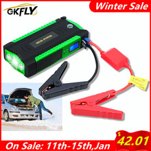 GKFLY High Power 16000mAh Starting Device 12V Car Jump Starter Power Bank Petrol Diesel Car Charger For Car Battery Booster