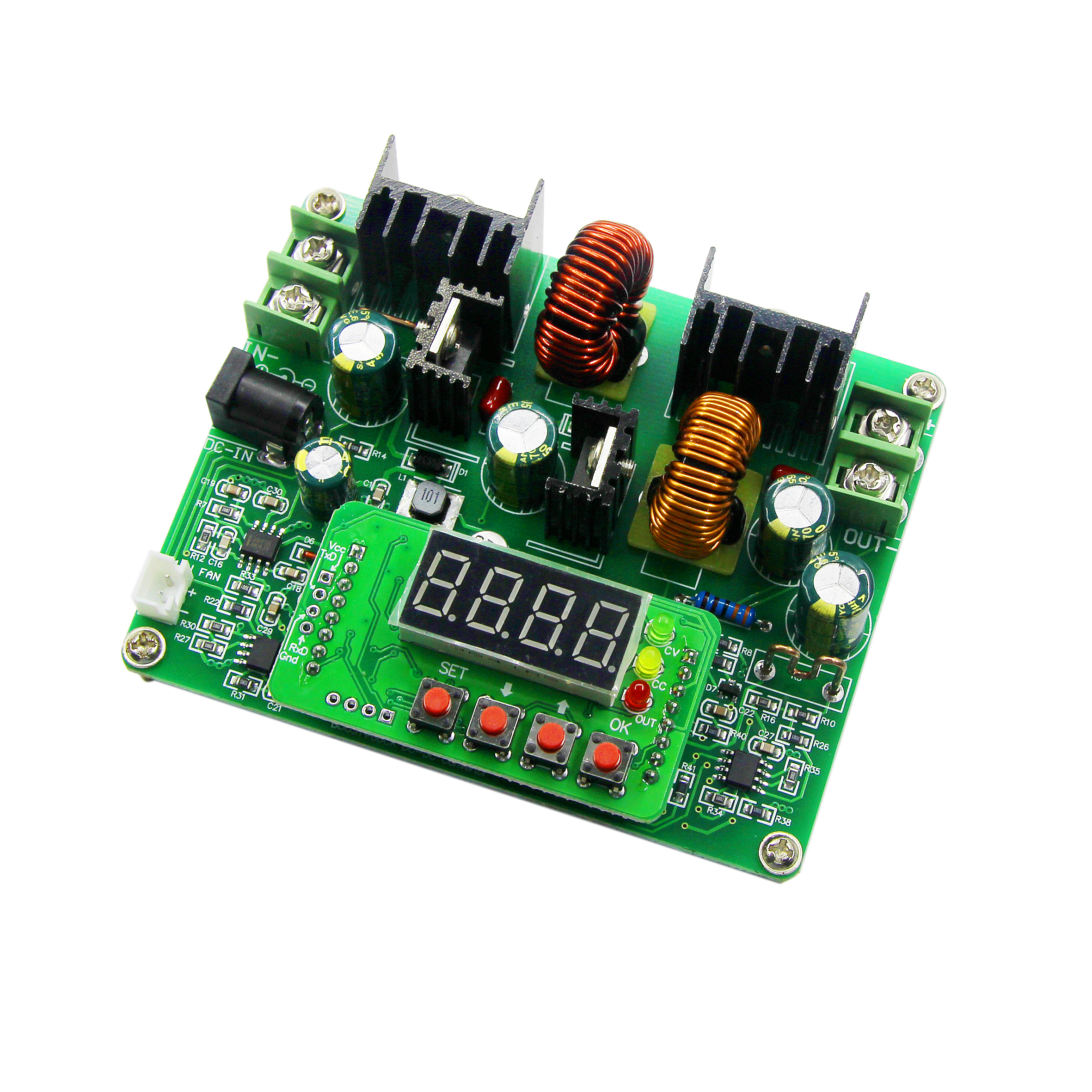 CNC DC Regulated Constant Current Power Supply Adjustable Voltage And Voltage And Current Meter 38V 6A Charger D3806