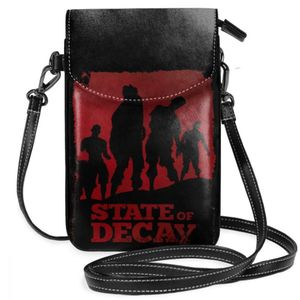 Image 5 - State Of Decay Shoulder Bag State Of Decay Feral Leather Bag Travel Trendy Women Bags High quality Pattern Slim Purse