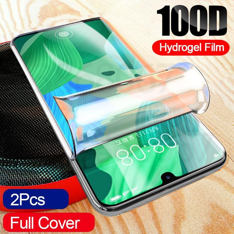 2Pcs 100D Hydrogel Film For Xiaomi Redmi Note 8 8A 7 7A 6 6A 5 Plus Screen Protector For Redmi Note 5 7 8 Pro 5 Soft Film