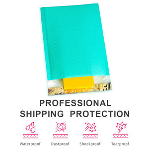 Image 3 - Speedy Mailers 50PCS Teal Green Poly Bubble Mailers Padded Envelopes Self Sealing Envelope Bubble Envelope Shipping Envelopes