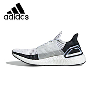 Original Adidas ULTRABOOST 19 Men's Running Shoes Fitness Sneakers Cozy Breathable Shock Absorption Durable Top Quality B37707