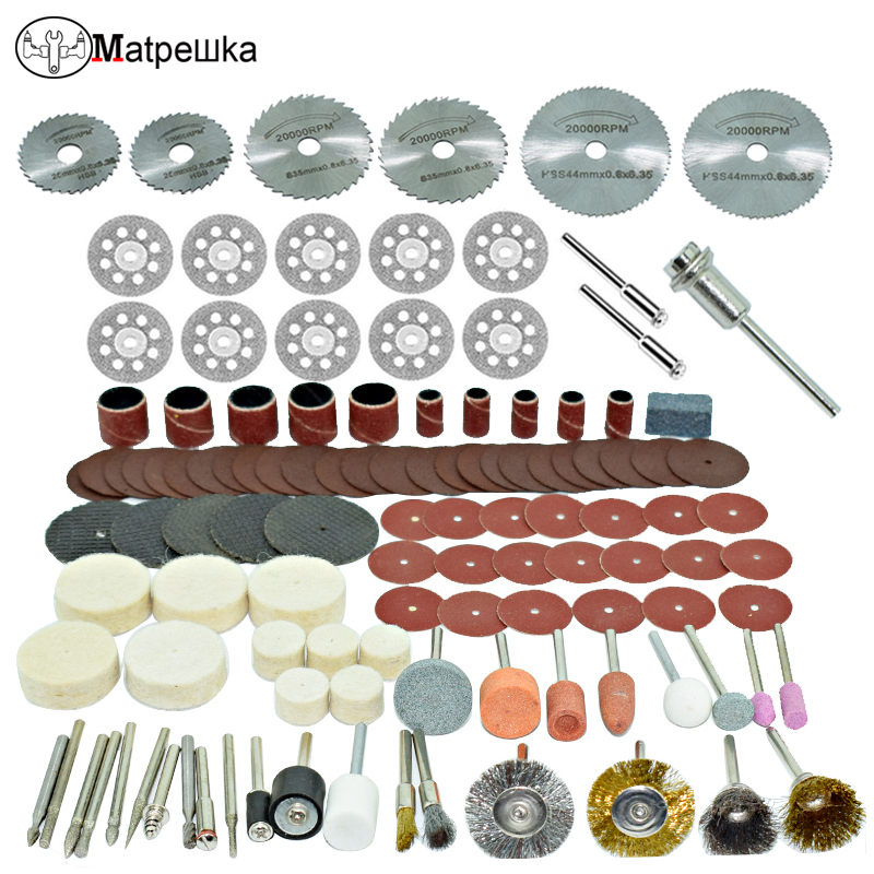 Dremel 100pcs mini drill engraving machine woodworking polishing accessories power tools accessories rotating tool accessories