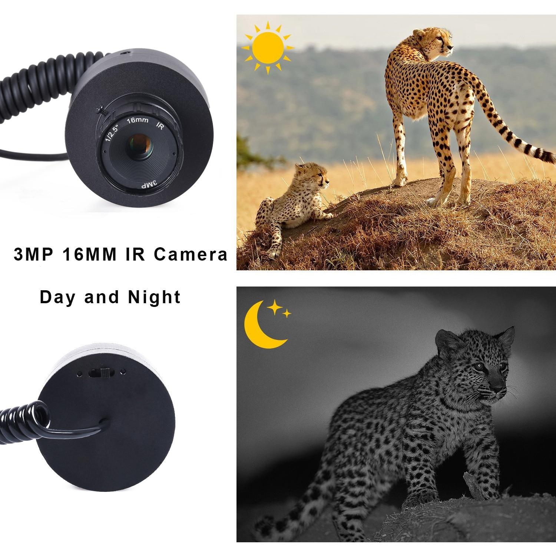 Caça visão noturna escopo dispositivo óptica visão