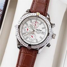 NEW Breitling Luxury Brand Mechanical Wristwatch Mens Watches Quartz