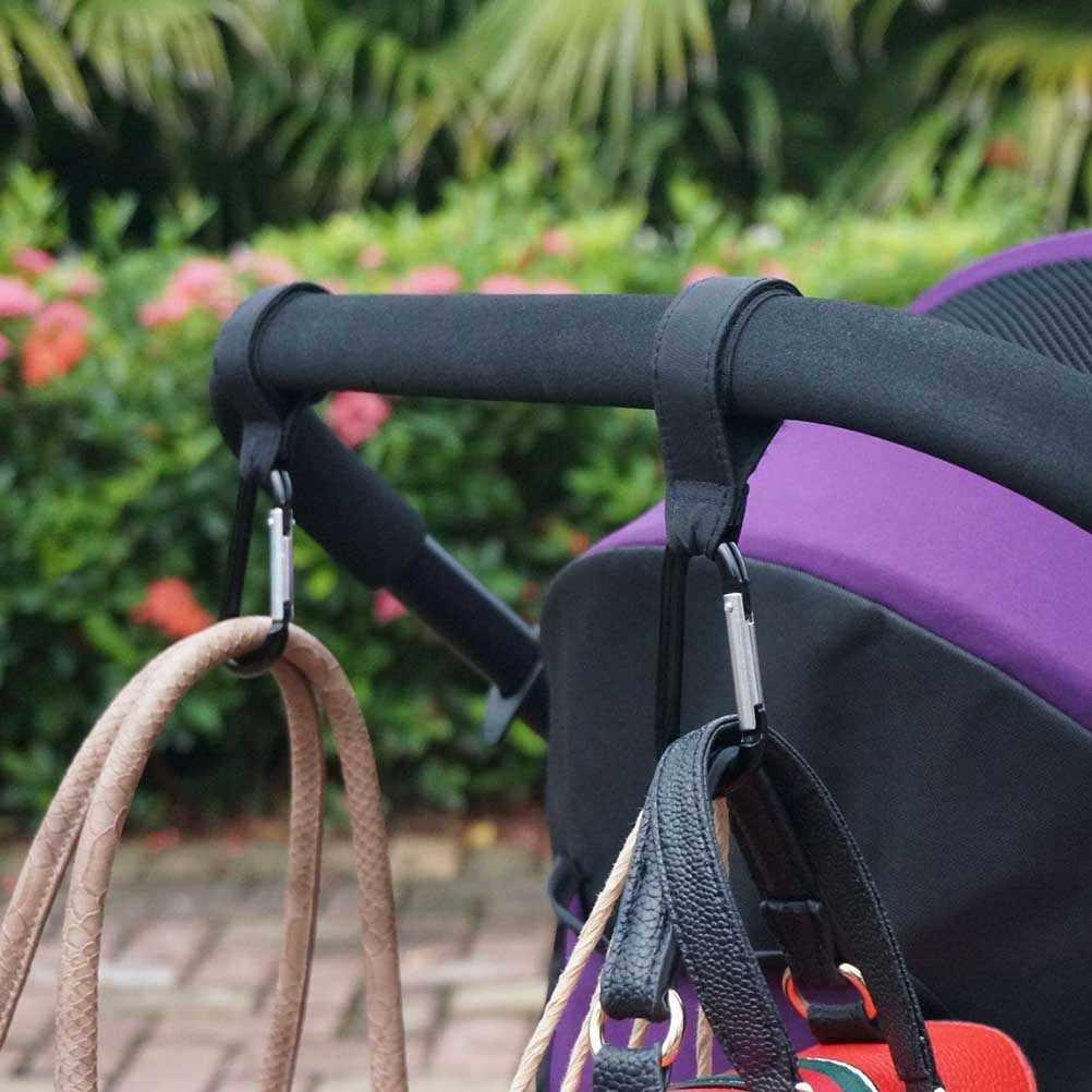 Acessórios de carrinho 2 pçs/lote Ganchos De Carrinho de Bebê Carrinho de Bebé Pram Cadeira de Rodas Universal Carrinho de Buggy Clipe Cabide Clipe