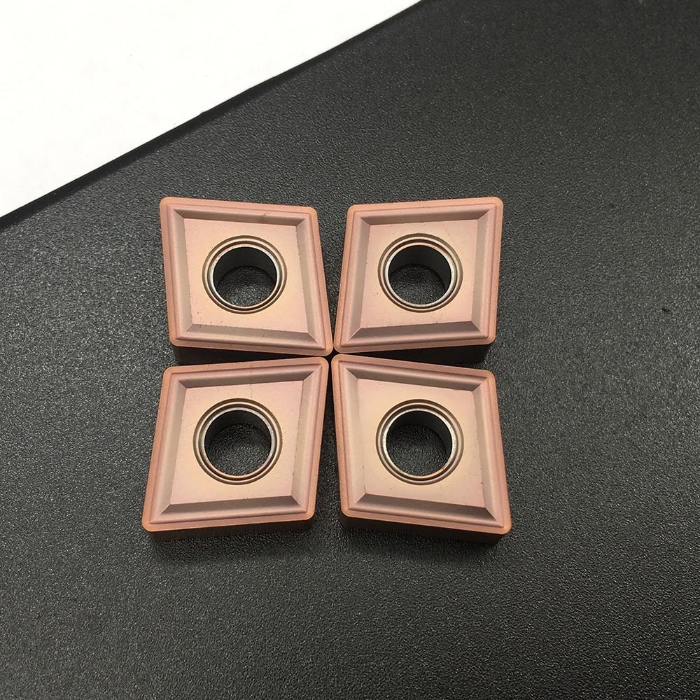 10 PZ CNMG120408 MS VP15TF Utensili per tornitura esterna Inserti in metallo duro Tornio da taglio Utensili CNC Fresa per tornio cnmg120408 UE6020