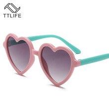 TTLIFE Brand 2019 New Kids Sunglasses Grils Lovely Baby Children Glasses Sun For Boys Gafas De Sol Uv400