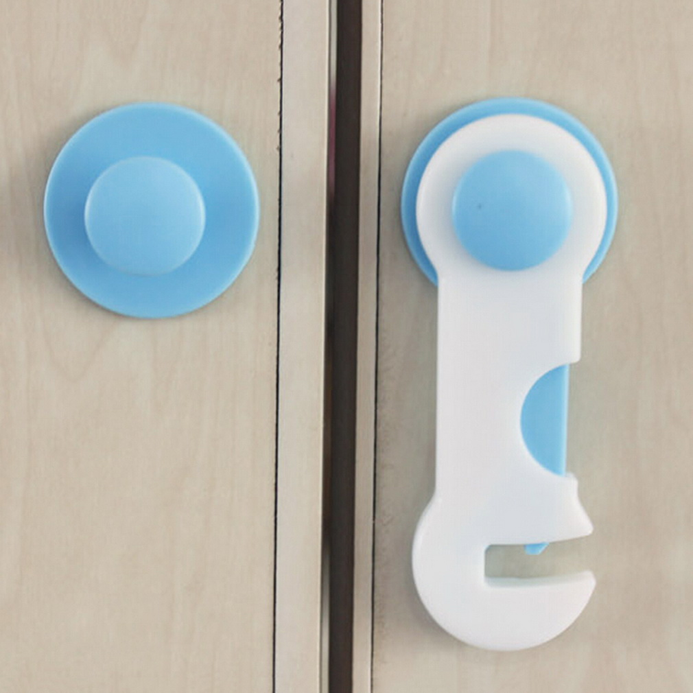Baby Kids Safety Lock Care Prevent Child Opening Cupboard Doors