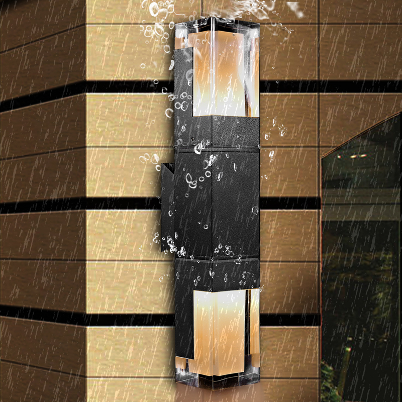 Акриловый современный минималистичный светодиодный настенный светильник водонепроницаемый IP65 7 Вт 14 Вт наружный светодиодный настенный с...