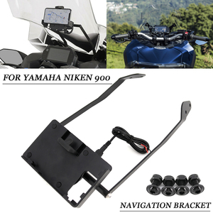 NIKEN 900 Motorcycle windshield Stand Holder Phone Mobile Phone GPS Navigation Plate Bracket For YAMAHA NIKEN 900 2019 gps kit