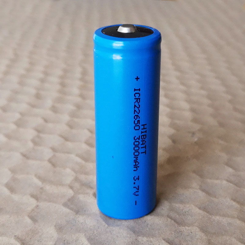 3000mah 3.7V 22650 Rechargeable Li-ion Battery Lithium Ion Cell For Feiyu Tech Fy G5 / SPG / SPGLive Handheld Gimbal