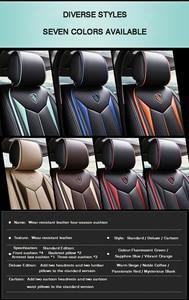Image 5 - HLFNTF High quality linen Universal car seat cover for SEAT LEON Ibiza Cordoba Toledo Marbella Terra RONDA car accessories+free