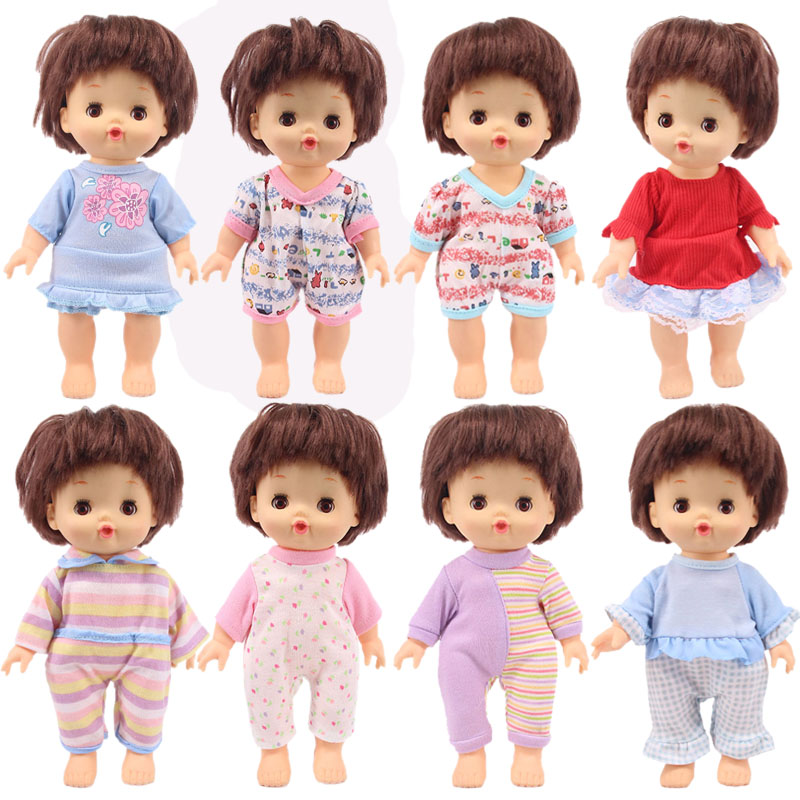 Doll Dress Casual Clothes Suit Pajamas Jumpsuit Accessories Gift For Children