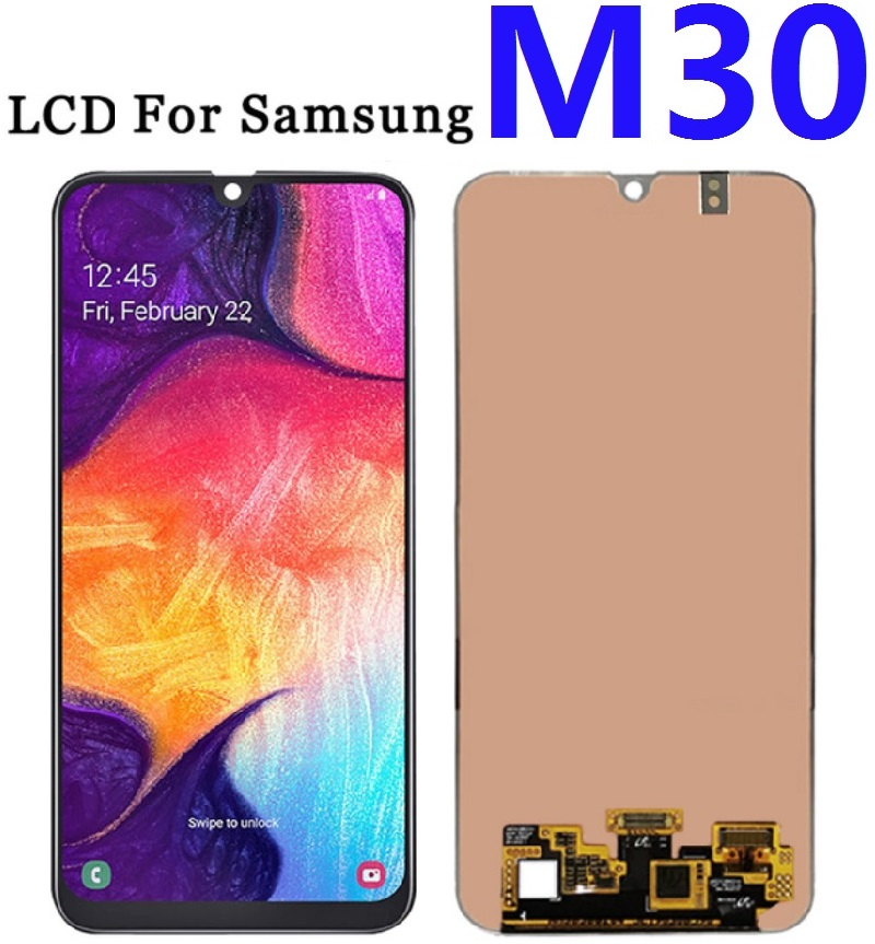 Tested For Samsung Galaxy M30 SM-M305F M305FN M305G M305M Display Screen Lcd Touch  Digitizer Assembly Replacement Parts