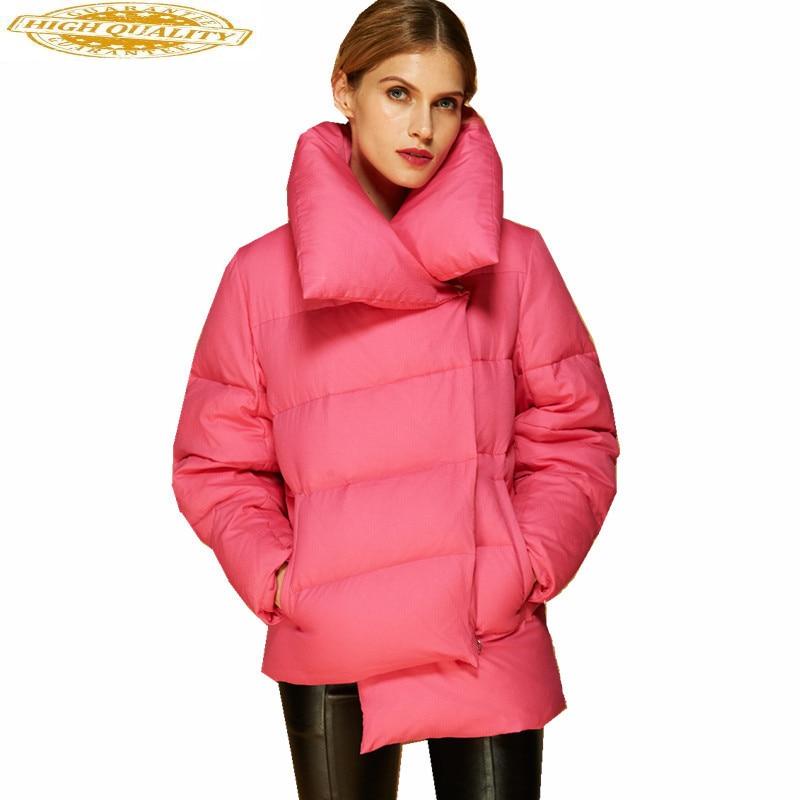 European Parkas Women's Down Jackets Winter Coat Ultra Light Down Jacket Women White Duck Down Coats Abrigo Mujer WXF164
