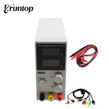 Eruntop-minifuente de alimentación CC regulada, K3010D, 30V, 10A, SMPS, canal único, 30V, 5A, Variable