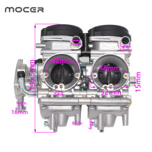 ATV Carburetor Raptor 660 Yamaha YFM660R Motorcycle 33mm for Yfm660/Yfm660r/2001-2005/..