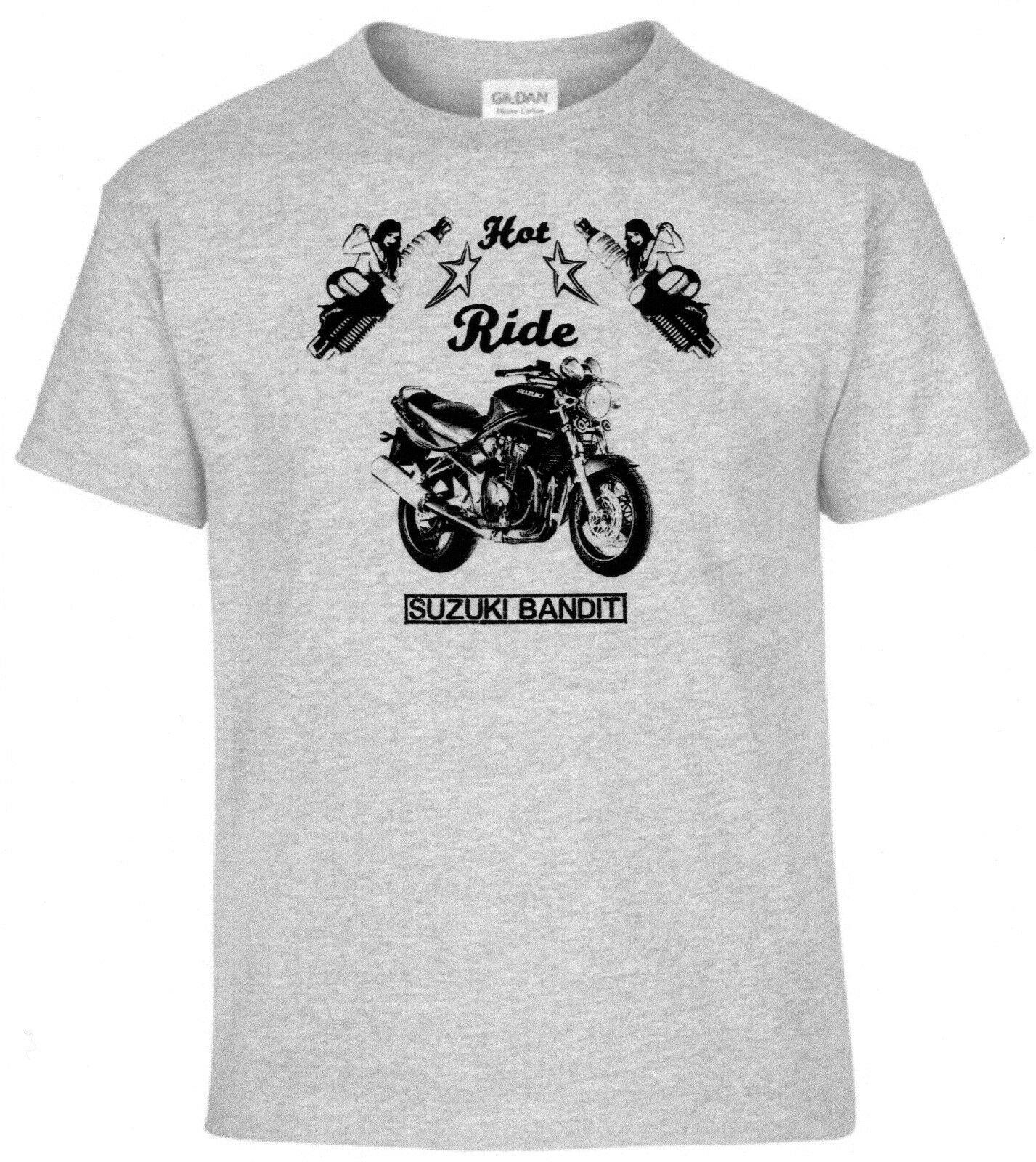 T-Shirt, Suzuki Bandit, Pinup, Motorcycle, Bike, Vintage, Classic Cars