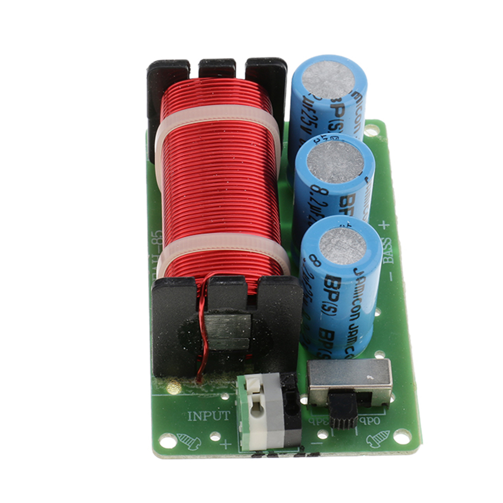 Bass Subwoofer Frequency Divider Speaker Audio Crossover Filters Board DIY