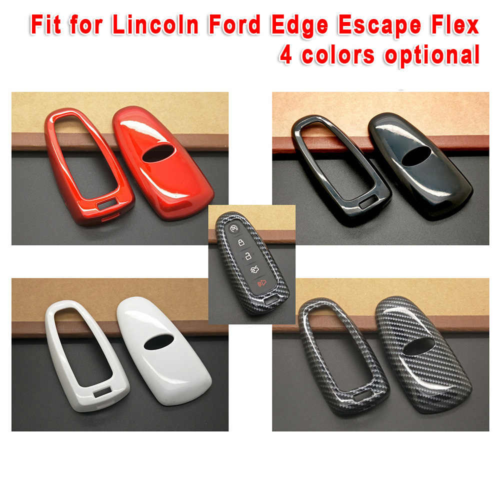 자동차 키 케이스 장식 자동차 키 커버 포드 가장자리 액세서리에 적합 새로운 플라스틱 측면 보호 마모 방지 제공