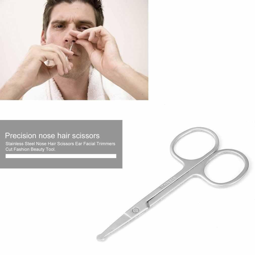 Zasilany z baterii przenośny elektryczny nosa włosów trymer trymer do nosa maszynka do strzyżenia ucha do usuwania włosów pielęgnacja twarzy do golenia golarka dla mężczyzn prezenty