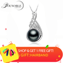 925 Sterling Silver Natural Freshwater Pearl Necklace Pendant Fashion Pearl Jewelry Necklace For Women New