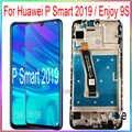 Для huawei P Smart 2019 ЖК-экран дисплей Наслаждайтесь 9S с сенсорным экраном с рамкой в сборе запасные части для ремонта
