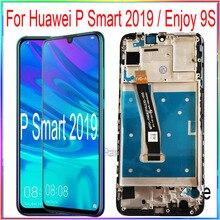 עבור Huawei P חכם 2019 LCD מסך תצוגת ליהנות 9S עם מגע עם מסגרת עצרת החלפת חלקי תיקון