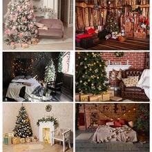 Виниловый фон для фотосъемки shuozhike на заказ Рождественский
