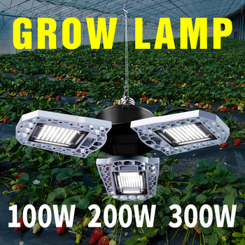 Growing Plant 220V Led Lamp E27 Full Spectrum Bulbs E26 Led Phyto Light 100W 200W 300W Led Grow Lamp Indoor Lighting Fitolampy cree cxb3590 300w cob dimmable led grow light full spectrum led lamp 38000lm hps 600w growing lamp indoor plant growth lighting