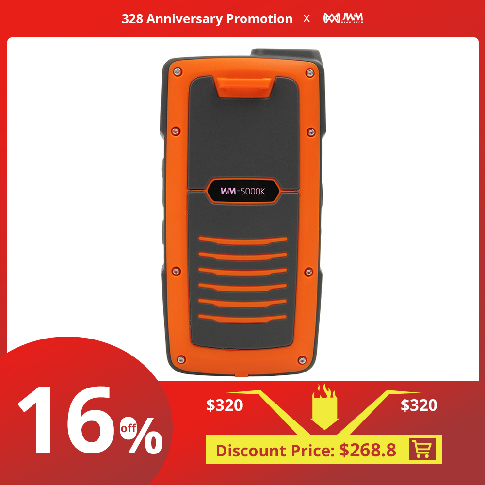JWM WIFI RFID Walkie Talkie Patrol Tour System For Security Guard With Free Standalone Software