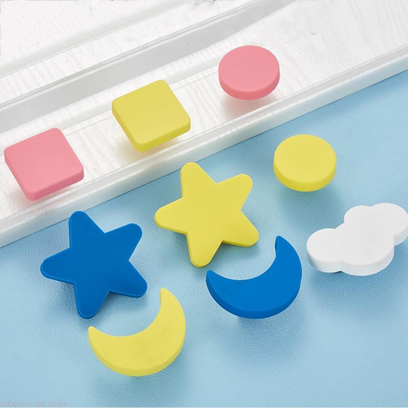 2pcs Lot Cartoon Kids Room Cabinet, Teal Cabinet Knobs