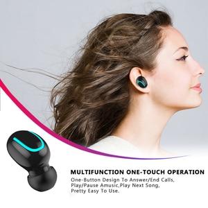 Image 4 - Q32 TWS Bluetooth 5.0 Earphones Wireless Headphones Handsfree Headphone Sports Earbuds Gaming Headset Phone PK HBQ