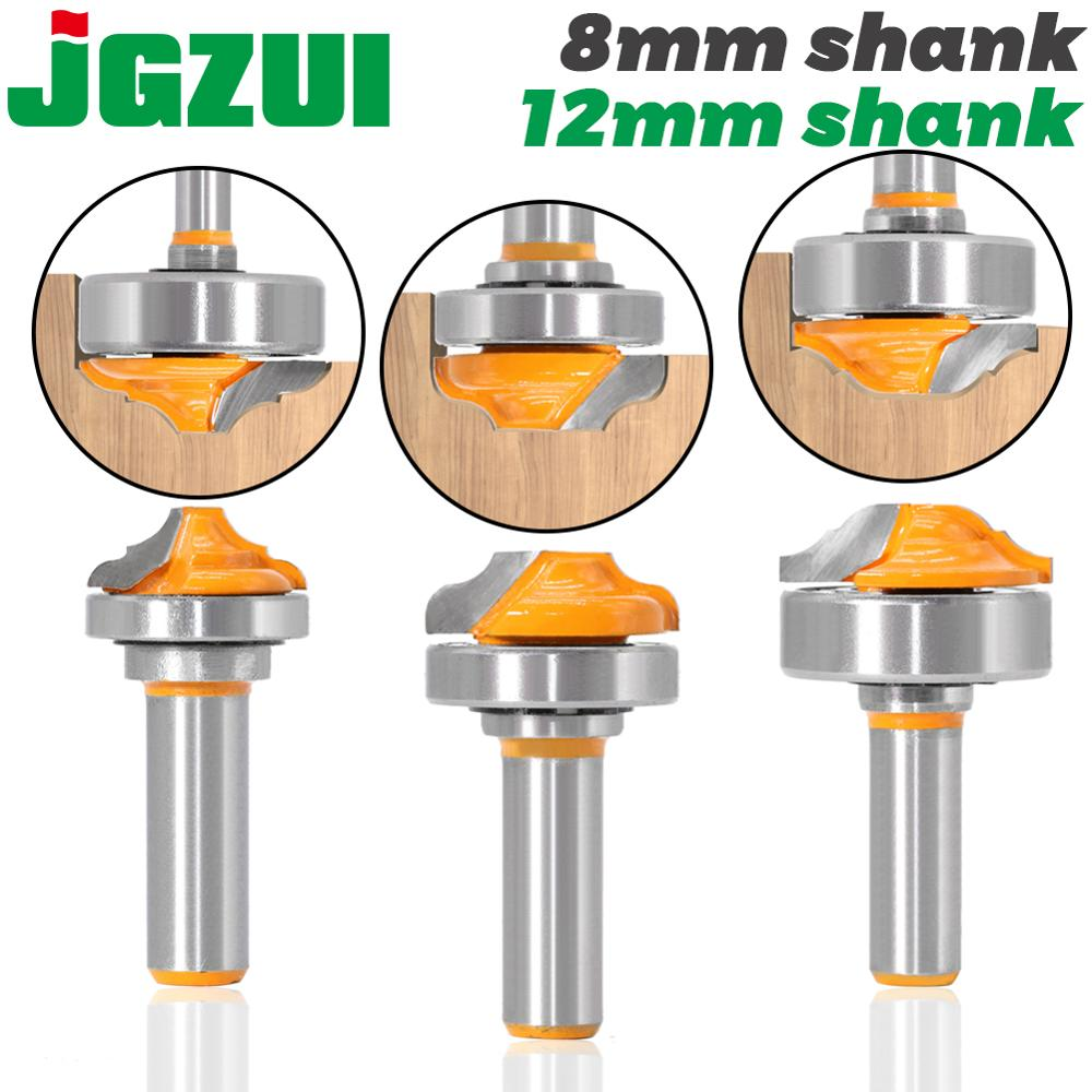 1pc 8mm Shank Bearing Shank Double Roman Ogee Edging Router Bit Milling Cutter For Wood Wood Line Knife Hobbing