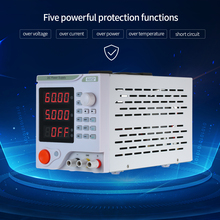 LED Programmable DC Power Supply Electrical Source Variable Adjustable 60V 5A Switching Regulated for Lab