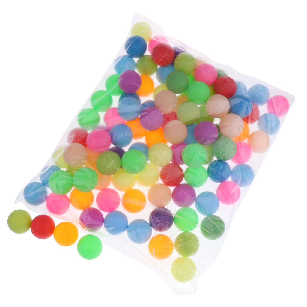 200pcs Mixed Color CAT BALLS - 40mm Table Tennis Balls - Beer Pong - Ping Pong