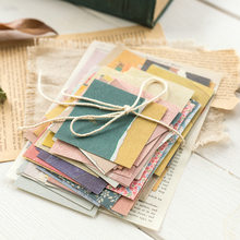 60 pcs/pack Creative Ins Style Memo Pad Retro Fresh Flower Basic Journal Material Paper Collage Scrapbook Notes Stationery