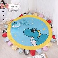 150cm Round Ground Carpet Non slip Living room Bathroom 10 Colors Choose Absorbent Soft Mat/Rugs CF