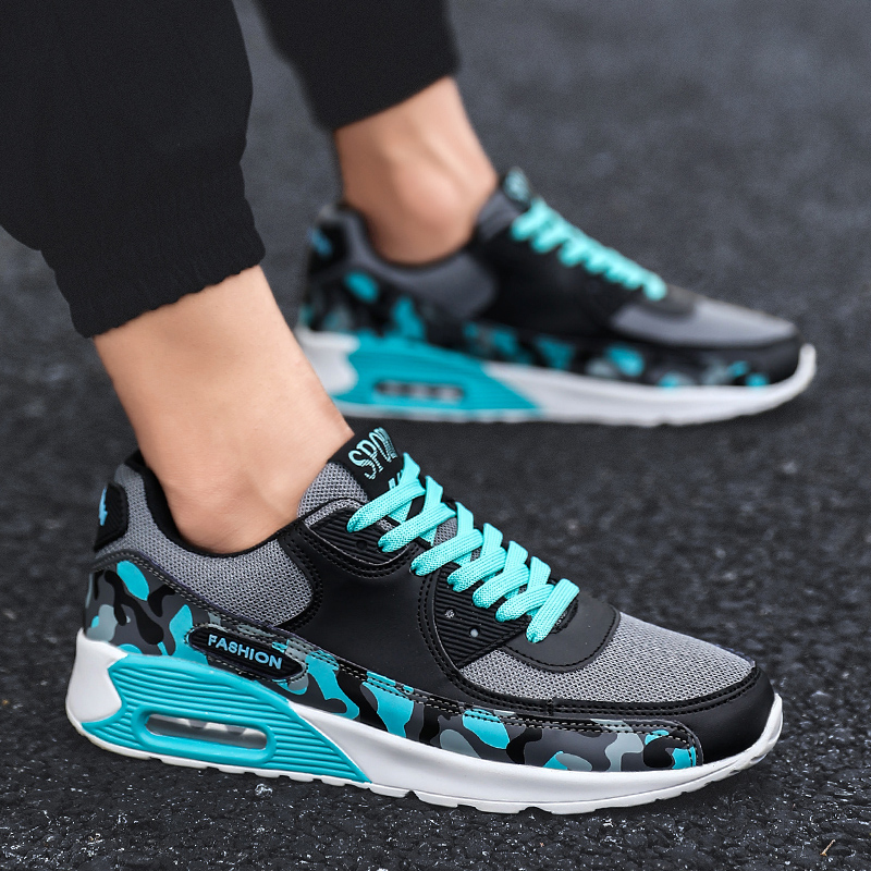 2019 Brand Men Running Jogging Shoes Air Sole Comfortable Walking Sport Sneakers Breathable Air Gym Trainers Mens Runners Cheap