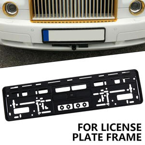 Tag-Holder Frame License-Number-Plate Auto European Brand-New Mount