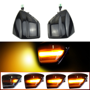 Image 2 - Araba dinamik dönüş sinyal ışığı Ford s max 07 14 Kuga C394 08 12 c max 11 19 LED ayna tekrarlayıcı sıralı göstergesi flaşör