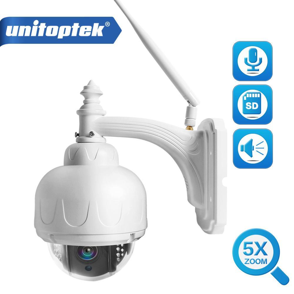 скорость 2 hd 1080 - Full HD 1080P 2MP PTZ Wireless Speed Dome IP Camera Wifi Outdoor Security CCTV 2.7-13.5mm Auto Focus 5X Zoom SD Card ONVIF P2P