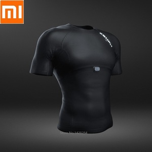 Image 1 - Мужская Спортивная Футболка Xiaomi ZENPH с мониторингом в реальном времени, высокая эластичность, быстросохнущая летняя спортивная футболка для бега с коротким рукавом