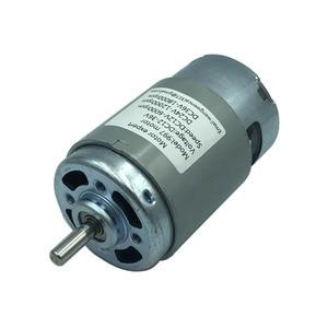 Image 1 - 997 Powerful DC Motor 12 36V High Speed Motor Silent Ball Bearing Motor