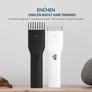 Image 5 - ENCHEN Boost USB Electric Hair Clipper Two Speed Ceramic Cutter Hair Fast Charging Hair Trimmer Children Hair Clipper