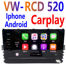 Radio originale nuovissima RCD520 per Golf MK7/Passat B8/Tiguan mk2/t-roc/t-cross 5GG035869 unità touch screen full size Carplay