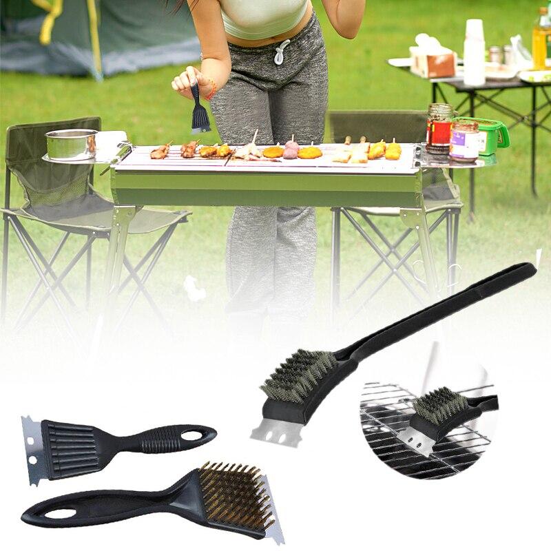 Чистящая Щетка для барбекю принадлежности для барбекю Weber гриль Размер: 21x7,3 см(приблизительно) инструмент барбекю гриль щетка гаджет для использования на открытом воздухе