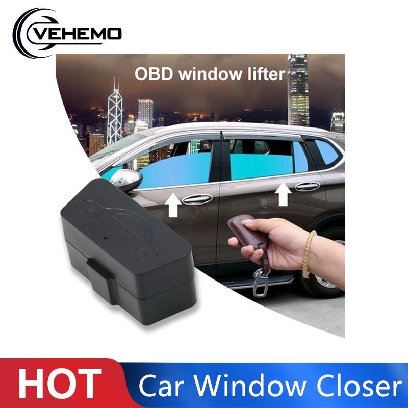 Vehemo Automatic OBD Car Window Closer Auto Window Closer Car Accessory Vehicle Window Closer Vehicle Glass Door Durable